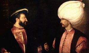 Another Friendship-Enmity relationship between Ferdinand I and Suleiman Magnificent.